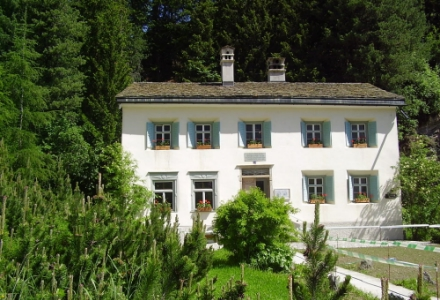 Nietzsche's summer home in Sils