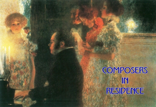Schubert at the Piano / Klimt